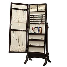 Amazing Stylish Collection ! A truly magnificent jewelry collection demands a suitable storage solution, and the Collection Jewelry Armoire Cheval Mirror d