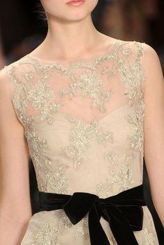 black velvet details