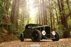 I love this ratrods raw look... This I would drive till the wheels fell off...