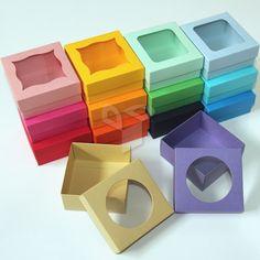 Diy Gift Box, Diy Box, Diy Arts And Crafts, Paper Crafts, Paper Box Template, Wedding Gift Boxes, Soap Packaging, Diy Ribbon, Box Design