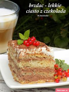 brzdąc- lekkie ciasto czekoladowe