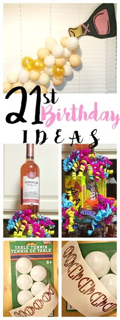 21st Birthday Party Ideas PartyIdeas 21stBirthday SouthernlySplendid Crafts