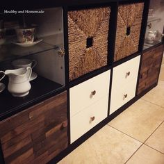 This is an extremely easy and affordable way to give your Expedit/Kallax more of a custom look. I realized while shopping at Ikea that one ...