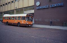 GM Buses Leyland National JNN 588N, Manchester Arndale Centre, April 1992