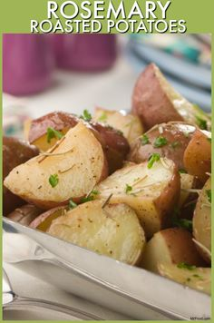 Fresh rosemary makes these roasted potatoes the perfect side dish for Easter.