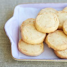 Toasted Coconut Shortbread