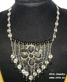 Necklace metal wire