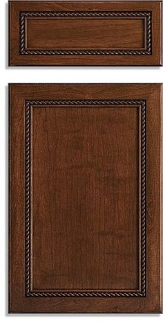 Cabinet Doors With Rope Molding.