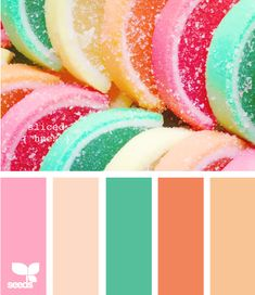 Minus the pink. I love this for Ramona's room color pallet.