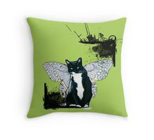 Do you love cat ? Also on legging, t-shirt, cases, mug, travel mug, throw pillow, tote bag, studio pouch, etc.  http://www.redbubble.com/people/damnmurphy/works/14794177-flying-cat?p=throw-pillow