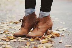 colorfulkeys: boots + socks love