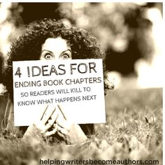 Good book chapters are like bad treasure maps. They lure you in without yielding the treasure. Learn how to make your readers continue the hunt!