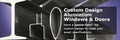 Wood and aluminium doors and windows Aluminium Windows And Doors, Special Needs, Custom Design, Wood, Woodwind Instrument, Timber Wood, Trees