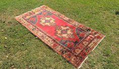 4x7 feet Vintage Anatolian Area Rug On Sale