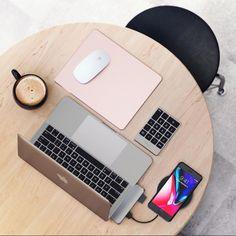 Satechi Type-C Pro Hub, Keypad, and Mouse Pad
