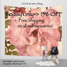 This sale has ended. (FLASH SALE ~> CLICK to see or buy! Today only get 15% off plus free shipping on all wall tapestries! They are also great as picnic/outdoor concert blankets.)