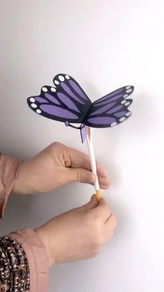 Instruções Origami, Paper Crafts Origami, Paper Crafts For Kids, Craft Activities For Kids, Preschool Crafts, Diy For Kids, Fun Crafts, Back To School Crafts For Kids, Wood Crafts