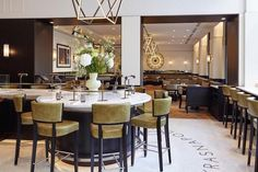 The Grand Hotel Krasnapolsky recently unveiled the redesign of its public areas, bar and restaurants. The Amsterdam hotel's transformation was led by Studio Proof and aims to combine cosmopolitan...