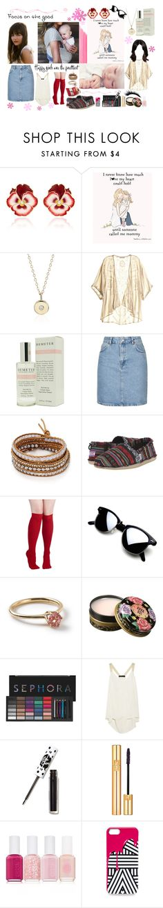 """""""Seraphim 31"""" by stockmon ❤ liked on Polyvore featuring Alison Lou, Blue Nile, Love Sam, Demeter Fragrance Library, Topshop, Chan Luu, BOBS from Skechers, Ippolita, Anna Sui and Sephora Collection"""