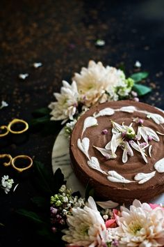 This gluten-free Espresso Raw Chocolate Cake melts in your mouth Raw Food Recipes, Espresso, Bakery, Vegan, Healthy, Desserts, Espresso Coffee, Tailgate Desserts, Deserts