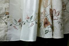 dress, embroidery