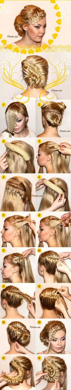 Modern Medieval Hairstyle – DIY Tutorial, fishtail braid, braided hairstyles