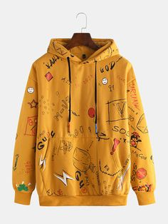 Cool Zip Up Hoodies & Crew Neck Sweatshirts For Men At Wholesale Prices - NewChic Cool Outfits, Casual Outfits, Fashion Outfits, Tomboy Outfits, Mens Fashion, Casual Shirt, Latest Fashion, Fashion Trends, Stylish Hoodies