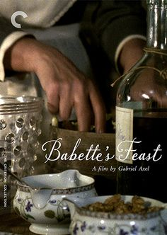 """""""BABETTE'S FEAST"""" (aka Babettes Gaestebud). Good storytelling and great cinematography best enjoyed on a lazy Sunday afternoon with some nice cured meats, cheeses and punchy red wine-perfect. Full movie review and recipe for Blini with Caviar see: http://tastyflix.com/?p=98 -Chef Bradley Borchardt #BITTERCHEF #TASTYFLIX #EXPANDINGPALATES"""