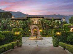 Extraordinary Property of the Day: Majestic Mediterranean Estate in Montecito, California