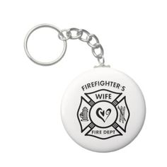 Firefighters Wife Keychains