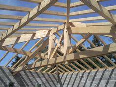 Roof Design, Gazebo, Construction, Wood, Frame, Dragons, Carpentry, Woodworking, Kiosk