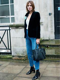 The 17 Steps to Dressing Just Like Alexa Chung via @WhoWhatWearUK