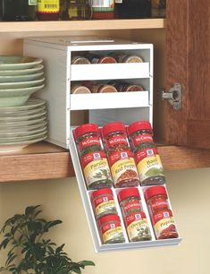 This clever spice rack organization makes your kitchen more functional,and beautiful too 19