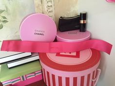 """💄NEW Chanel Ribbon Pink 27x2"""" VIP Gift 100% Auth Paris💋 #CHANEL"""