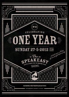 The Speakeasy bar in Chalandri, Athens, GR celebrates 1 year