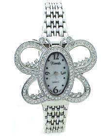 "Swarovski Crystal stone ""Boho Chic"" jewelry Butterfly watches on sale, Retail $195...Sale $62, plus Take Extra 25% Off Sale"
