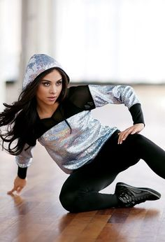 Weissman™ | Hologram Hip Hop Top Leggings