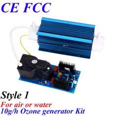 CE EMC LVD FCC Factory outlet BO-10QNAON 0-10 g/h ajustable tipo de tubo de Cuarzo de ozono purificador de aire de ozono casa agua del generador de aire