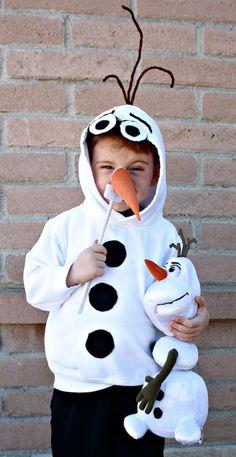 DIY Olaf Costume via @DesertChica