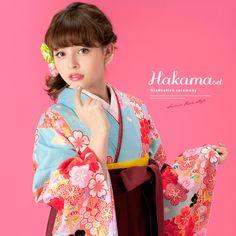 卒業式におすすめな着物・袴セット 加藤ナナ
