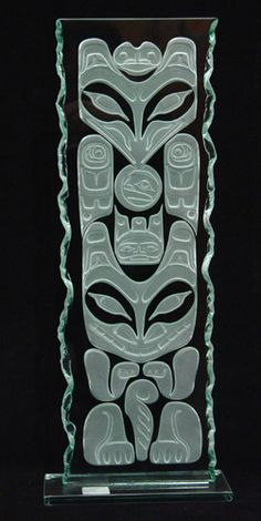 When it comes to totem poles the obvious problems are size and cost and some people are turned off by the rich colour. This solves all of that. By Alano Edzerza