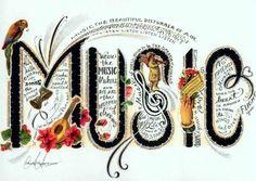 Music <3  Art by Charla Hayen