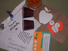 Check it Out! with Dawn: Teacher Appreciation Ideas