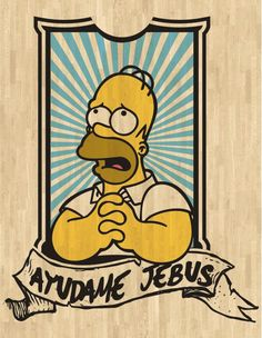 tu que estas en el cielo.... ayúdame superman! Simpsons Art, Simpsons Quotes, Futurama, Cultura Pop, Wallpaper S, Bart Simpson, Jean Paul Gaultier, Pop Art, Graffiti