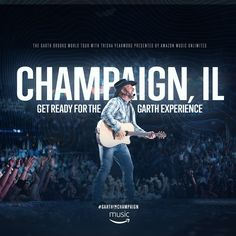 WIXY welcomes Garth Apr 29 at State Farm Center! Enter to win tickets.