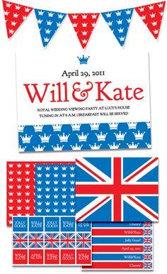 free-royal-wedding-party-printables