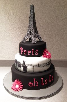Paris, oh la la — Birthday Cake Photos