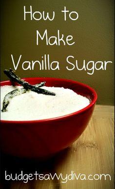 How To Make Vanilla Sugar
