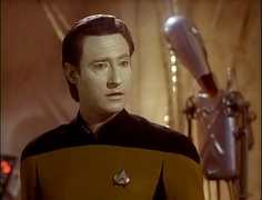 Data ( Brent Spiner ) Star Trek The Next Generation