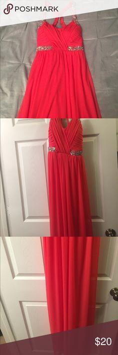Hot pink prom dress Never been worn before pink prom dress Deb Dresses Prom